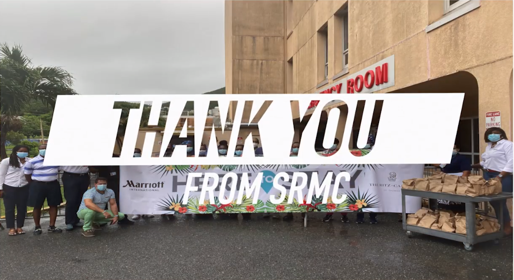 Marriott Gives to SRMC
